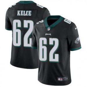 Eagles Jason Kelce Black Jersey